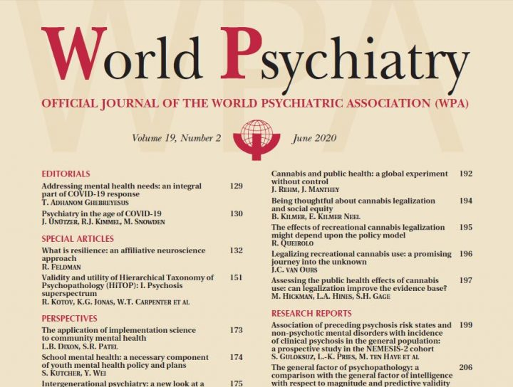 World Psychiatry June 2020 – журнал